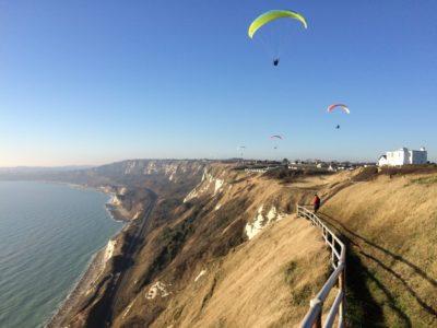Capel cliffs